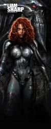 SDCC banner stand by LiamSharp