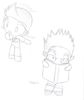 Lewis and Wilbur by Meet-The-Robinsons