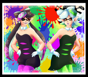 Squid Sisters by Setsuna-Yena