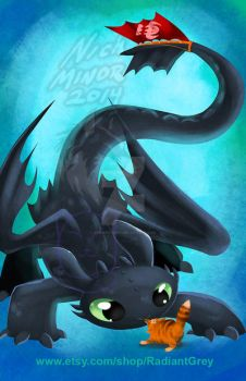 Toothless by Radiant-Grey