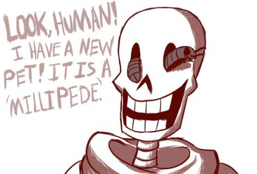 PAPYRUS' NEW PET by Pokefangirl491