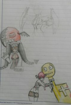 School doodle by Butterface27
