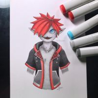 Monster Sora by WolfJayden