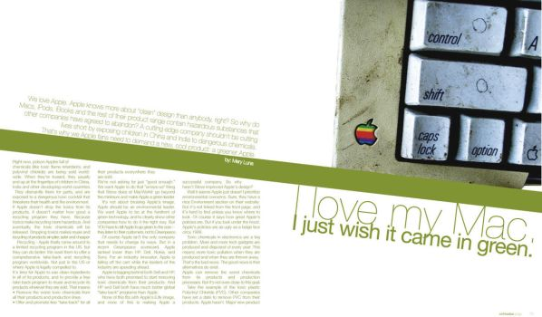 Magazine Editorial for Type by mluna