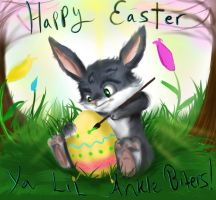 Happy Easter Ya Lil Anklebiters! by Checker-Bee