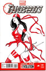 Elektra - Thunderbolts #1 by SpiderGuile