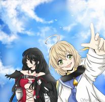 Berseria: Look Over There! by Siphine
