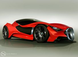BMW-Concept by Morfiuss