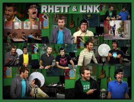 My Heroes....Rhett and Link by I-Clove