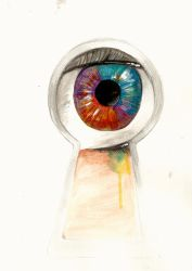 EYES by tealchartreuse