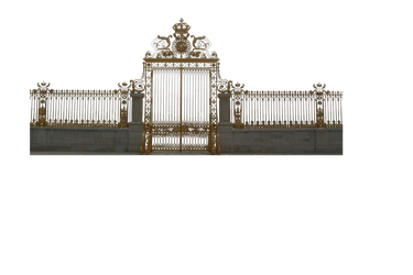 Versailles Gate - Cut Out PNG by HermitCrabStock