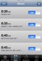 Iphone alarm by TheGuardianW0lf