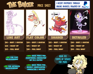 Commissions and prices, status: (OPEN) by Tomthebaker