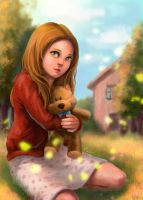 Amy Pond-The Girl Who Waited by pastellZHQ