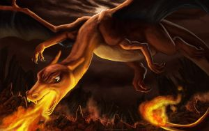 Charizard by Dalgeor