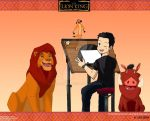 Me and our Lion King friends