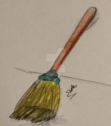 The broom she could have had by Le-Smittee