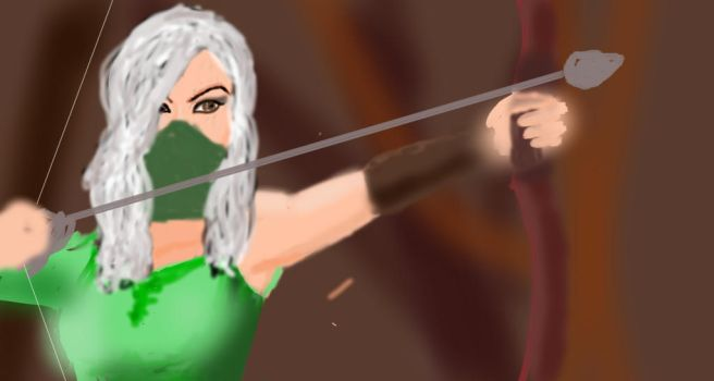 Female Archer 2 by silveryfeather208