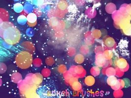 Bokeh Brushes by asphyxiate-Stock
