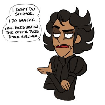 I Do Magic. by StressedJenny