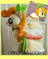 mlp plushie commission CARROT TOP by CINNAMON-STITCH