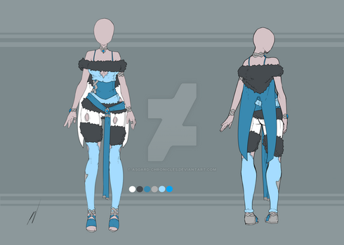 Adoptable - Outfit 8 SOLD by Asgard-Chronicles