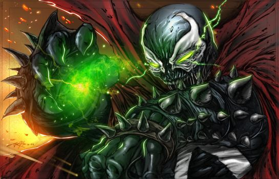 SPAWN colored by LoadedAtama