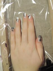 Music Nail Art I by LadyxOfxLight