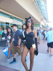 San Diego Comic Con 2015 Catwoman by DougSQ