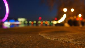 London Eye bokeh by JuicyLung