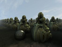 This Is The Army Of Forgotten Souls by batjorge