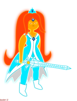 Master of Flames - Flame Princess Outfit Design by Andrasfu1027