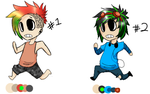 Free Chibi Boy Adoptables CLOSED by InfectedZombieX