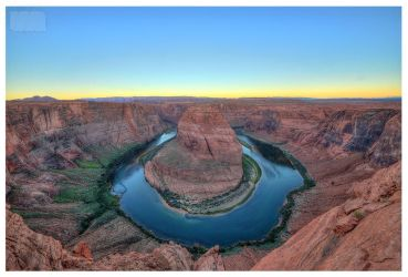 Horseshoe bend - Colorado River u-turn by Nachtfokus