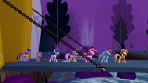 [SFM] Marching Mane Six and Spike 4k by OC1024