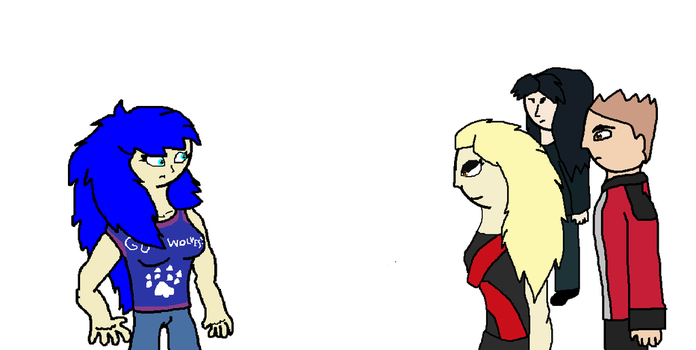 A Encounter To The Red Lupus Gang by Perithefox10