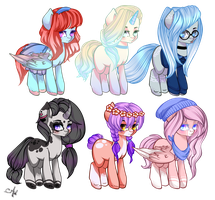 [CLOSED] Pony Adopts auction: Points Only by LunnaDeLuna
