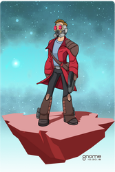 Star-Lord (Peter Quill) by gnome-oo