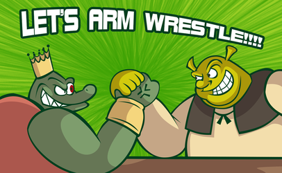 Arm Wrestling! by eKarasz