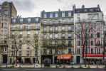 Paris the city of lights - on the other sidewalk by Rikitza