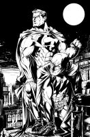 Bats and Supes by MarcFerreira
