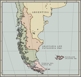 The Kingdom of Araucania and Patagonia by dsfisher