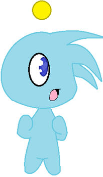 random chao doodle by candysweetx