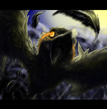 The Cry of the Crow:PC by 9tailsfoxyfoxy