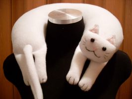Longcat Neck Pillow by Justenjoyinglife