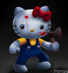 Hello Kitty by Neonunderground