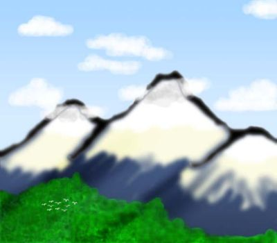 My Mountains by DJWilder