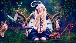Alice In Wonderland by Dreamvisions86