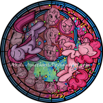 Stained Glass: Party of One by Akili-Amethyst
