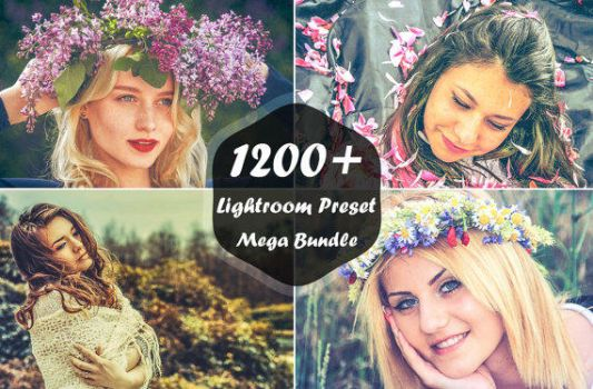 1200+ Lightroom Presets Mega Bundle by symufa